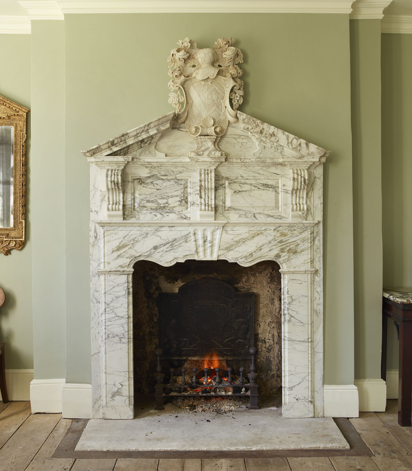 Astonishing Reproduction Fireplaces Mantelpieces Jamb Interior Design Ideas Gentotryabchikinfo