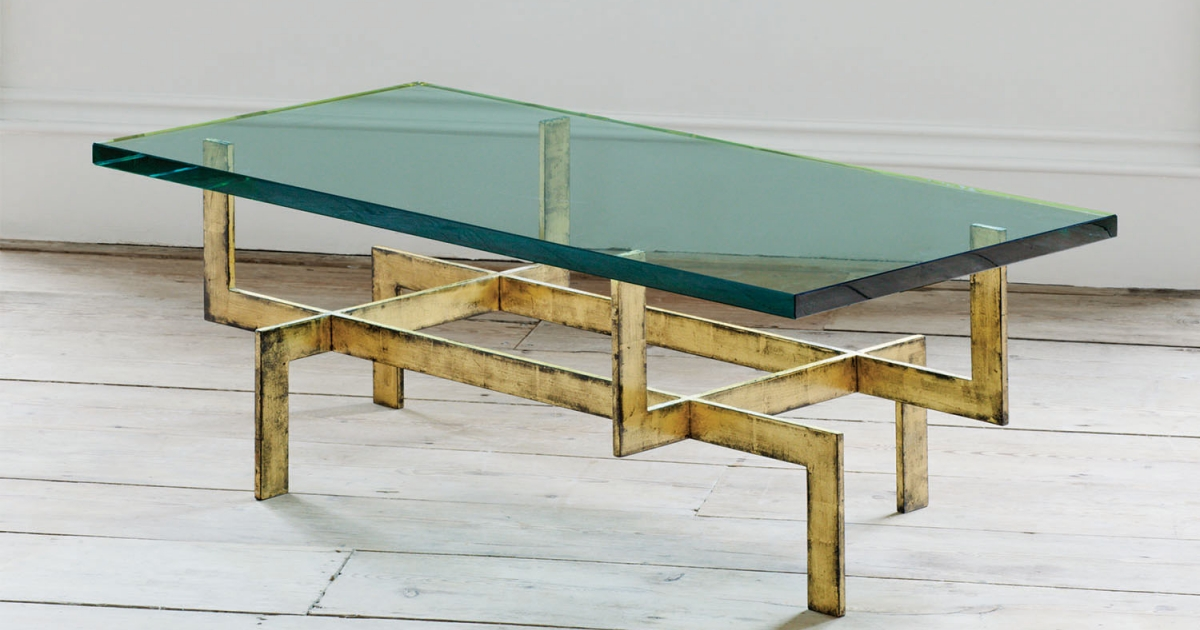 French Glass Coffee Table | Jamb
