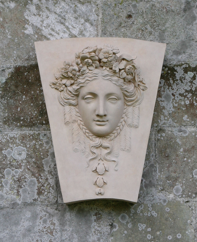 Decorative Objects Coade Sculpture Jamb